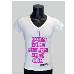 CULTGUT® T-Shirt No Plastic V-Neck