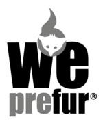 weprefur Logo nachthaltig und fair